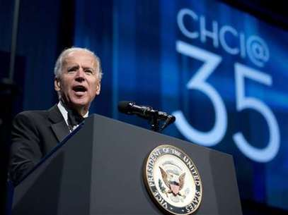 Joe Biden resaltó la importancia del pueblo hispano estadounidense. Foto: AP