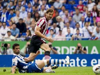 3-3. La furia de Llorente resucita al Athletic tras el descanso Foto: Agencia EFE / EFE en español