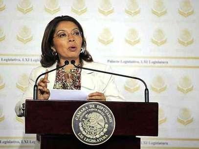 La diputada Damián llamó a no exponer a la Capital e internar a los reos federales en los penales que les corresponde. Foto: Reforma