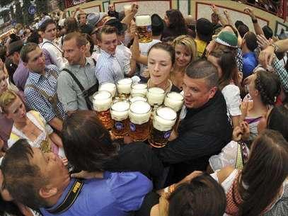 Arranca la Oktoberfest de Múnich, la fiesta cervecera más tradicional y popular del mundo Foto: Agencia EFE / EFE en español