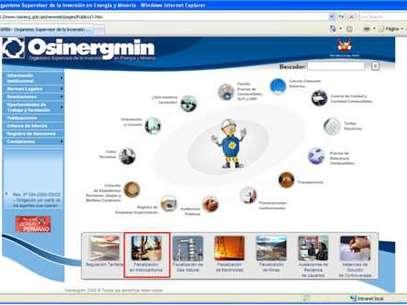 Foto: Osinergmin - página web institucional