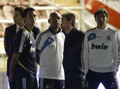 Álvaro Arbeloa no podía creer lo que estaba sucediendo. Foto: Reuters