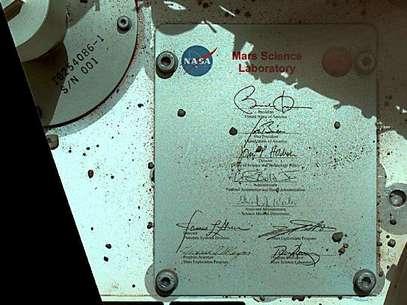 La firma de Obama ya está en Marte gracias al Curiosity de la NASA. Foto: AP