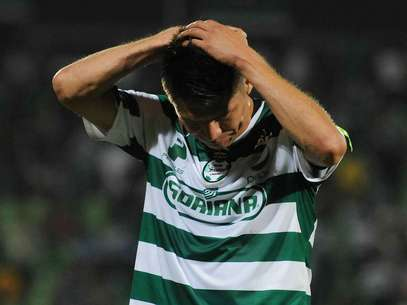 Oribe Peralta couldn't find the net against Jaguares Foto: Mexsport