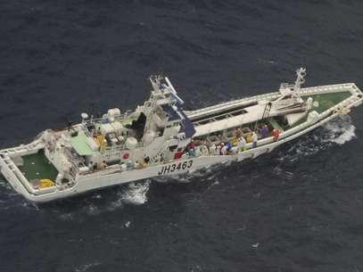 El Horiei Maru, de 119 toneladas. Foto: AP
