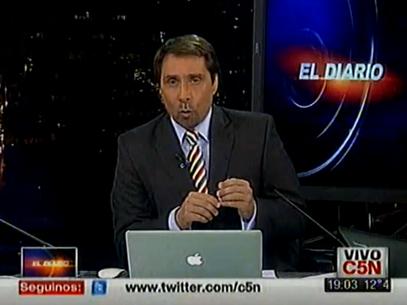 Feimann quedó en medio de una confusa polémica Foto: Captura TV