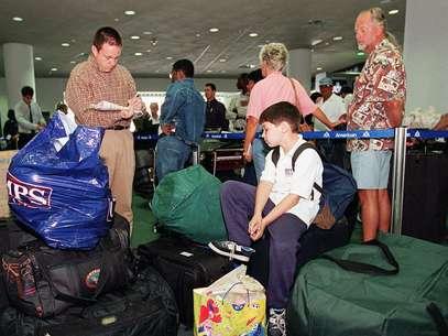Todos los pasajeros que viajan de México a Estados Unidos son sometidos a un escrutinio por el Departamento de Seguridad Nacional.  Foto: Getty Images