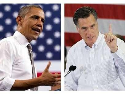 Obama y Romney ya están en la recta final de la campaña presidencial. Foto: AP