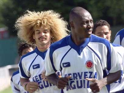Rincón, histórico de la selección Colombia. Foto: AFP