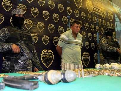 Detenido Foto: Agencia Reforma