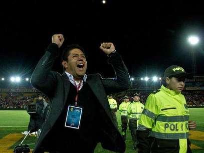 Gutiérrez sacó a Santa Fe campeón. Foto: Terra