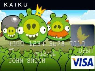 Los Angry Brids decorarán las tarjetas Visa el próximo año Foto: Reproducción