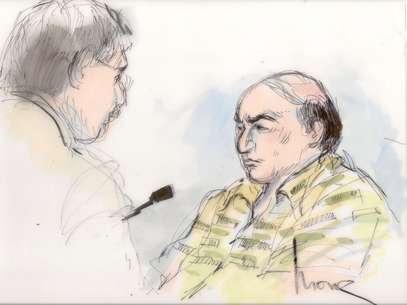 Youssef fue sentenciado a un año en prisión por violar su libertad condicional por fraude bancario al usar diferentes alias. Foto: AP