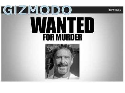 John McAfee, el billonario inglés creador del antivirus, está siendo buscado en Belice acusado del homicidio de un vecino Foto: Terra Chile