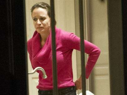 Paula Broadwell, the woman whose affair with CIA director General David Petraeus led to his resignation, is seen at her brother's home in Washington November 13, 2012. A computer used by Broadwell contained substantial classified information that should have been stored under more secure conditions, law enforcement and national security officials said on Wednesday. Picture taken November 13, 2012. Foto: Ron Sachs / Reuters