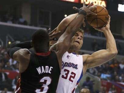 Wade anotó seis puntos en la derrota ante Clippers, lo más bajo en la temporada para él. Foto: Lucy Nicholson / Reuters
