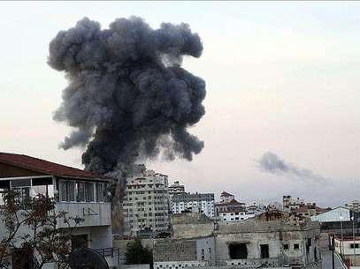 Israel y las milicias de Gaza continúan los ataques durante la noche Foto: Agencia EFE / EFE en español