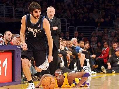 Ricky Rubio, jugador español de los Timberwolves de Minnesota Foto: Harry How / Getty Images