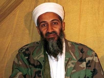 Fotografía de archivo sin fecha muestra a Osama bin Laden, líder de al Qaeda, en Afganistán.  Foto: AP