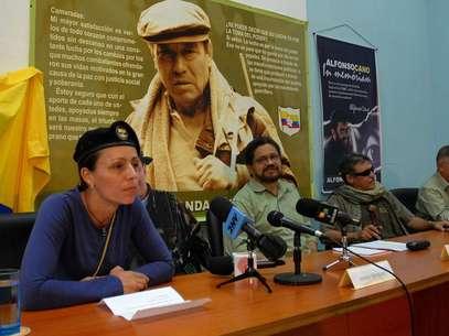 La mesa de diálogos -con sede en La Habana- pidió a la Organización de Naciones Unidas en Colombia y a la Universidad Nacional-Centro de Pensamiento y Seguimiento al Diálogo de Paz que convoquen, organicen y sirvan de relatores de los debates y de las conclusiones del foro, las cuales se entregarán a los negociadores en La Habana el 8 de enero. Foto: AP