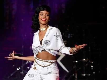 Rihanna consigue estar a la misma altura de Madonna. Foto: Getty Images