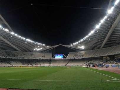 El estadio olímpico de Atenas, sede de los partidos de fútbol del Panathinaikos Foto: Getty Images