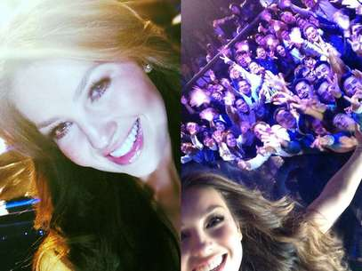 Thalía compartió en su cuenta de Twitter fotografías de su participación en 'La Voz... México 2'. Foto: Instagram