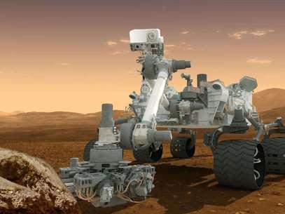 Concepción artística de la sonda rodante Curiosity en Marte. La NASA anunció el martes 4 de diciembre de 2012 que tiene planes para enviar en 2020 otra sonda similar a la Curiosity al planeta rojo, a un menor costo.  Foto: NASA / AP