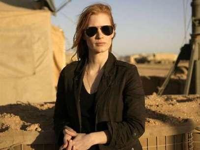 Jessica Chastain ganó como Mejor Actriz por Zero Dark Thirty Foto: Distribución