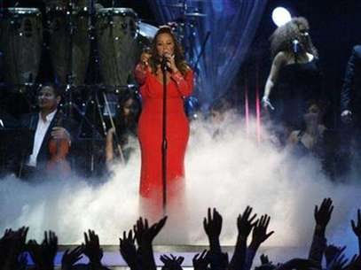 Mexican-American singer Jenni Rivera performs during the 2012 Billboard Latin Music Awards in Coral Gables, Florida April 26, 2012. Foto: Andrew Innerarity / Reuters