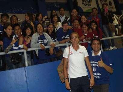 La Universidad César Vallejo, dirigida por Natalia Málaga, superó 3-1 a Sporting Cristal. Foto: Terra