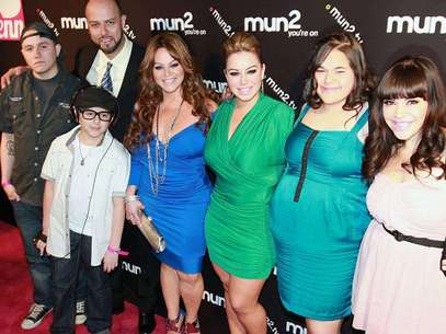 Janney, Jackie, Michael, Yenika y Johnny son los herederos de Jenni Rivera. Foto: MezcalENT