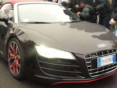Éste es el auto de Javier, valuado en 200 mil euros. Foto: Especial