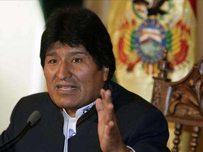 El presidente de Bolivia, Evo Morales Foto: Agencia EFE / © EFE 2012. Está expresamente prohibida la redistribución y la redifusión de todo o parte de los contenidos de los servicios de Efe, sin previo y expreso consentimiento de la Agencia EFE S.A.