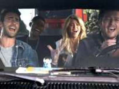 Shakira en un promo de The Voice Foto: NBC