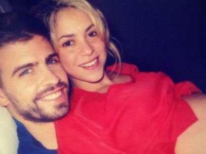 Shakira y Gerard Piqué.  Foto: Twitter / Facebook