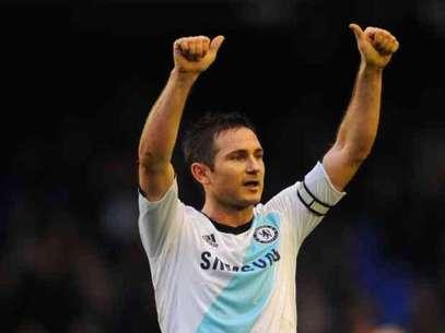 Frank Lampard da la victoria al Chelsea Foto: GETTYIMAGES