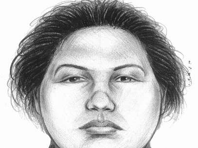 In this image provided by the New York City Police Department, a composite sketch showing the woman believed to have pushed a man to his death in front of a subway train on Thursday, Dec. 27, 2012 is shown. Foto: AP in English
