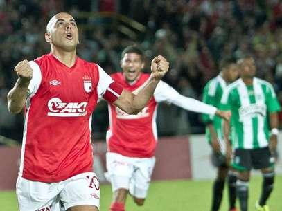 Omar Pérez, una nueva temporada con Independiente Santa Fe. Foto: Terra