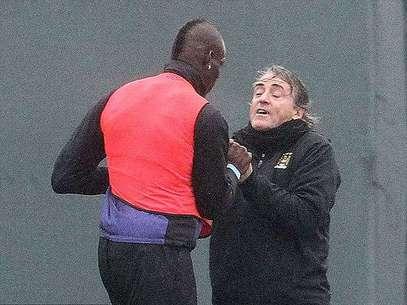 """Pese al problema, Mancini declaró que daría """"otras 100 oportunidades"""" al joven delantero. Foto: James Clark"""