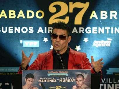 Martínez, campeón diamante del CMB, recuperó el título de los medios al vencer por puntos al mexicano Julio César Chávez Jr.  Foto: Getty Images