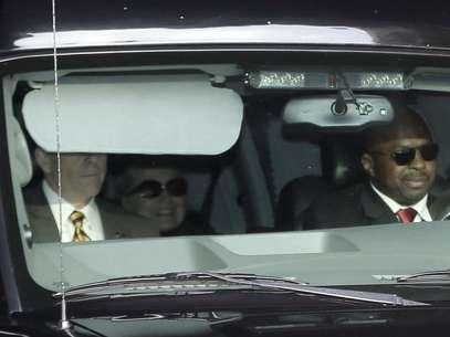Hillary Clinton, cuando fue trasladada en el Hospital Presbiteriano en Nueva York, el miércoles. Foto: AP