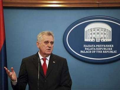Serbian President Tomislav Nikolic speaks during a news conference in Banja Luka December 26, 2012. Foto: Dado Ruvic / Reuters