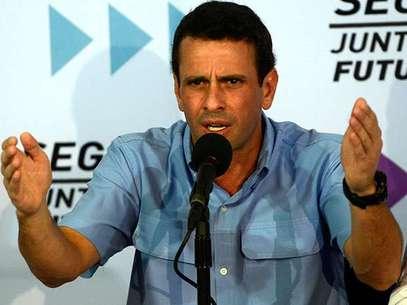 El ex candidato presidencial aseguró que ni el vicepresidente ni ninguno de los dirigentes venezolanos calza los zapatos del líder que dicen defender. Foto: AFP