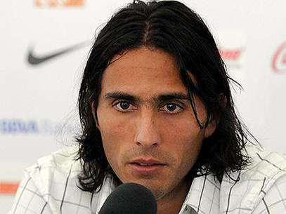 Aldo de Nigris, delantero del equipo Rayado. Foto: Terra/Emilio López / Terra Networks México S.A. de C.V.