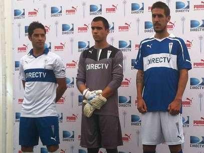 El uniforme de esta temporada fue presentado en San Carlos de Apoquindo. Foto: gentileza Puma