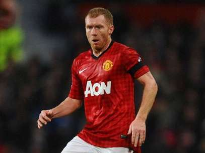 It is not the first time Scholes has had a car stolen at his home.  Foto: Getty Images