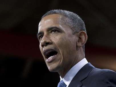 En esta foto del martes 29 de enero de 2013, el presidente Barack Obama habla sobre la reforma de la ley de inmigración en una escuela en Las Vegas. El miércoles 30, Obama confió en que las relaciones entre Estados Unidos y Cuba pueden progresar en los próximos cuatro años  Foto: Carolyn Kaster / AP