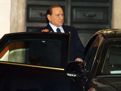 The pope's decision also dominated Berlusconi's own media empire on Tuesday. Foto: Getty Images