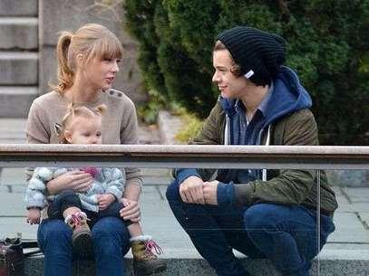 Harry Styles y Taylor Swift, en foto de archivo. Foto: Mirror.co.uk